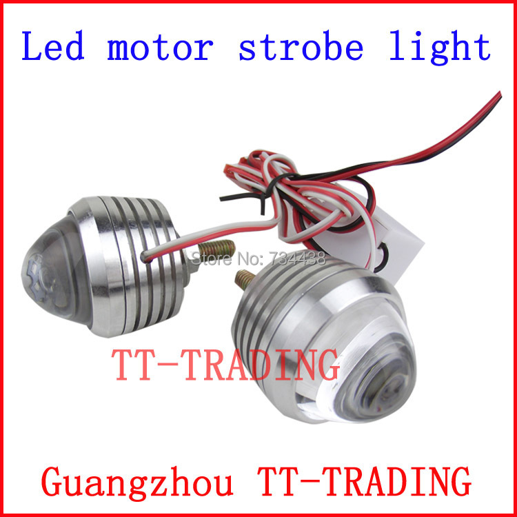 high bright LED motorcycle Strobe lights car warning light auto flash lamp bulb DC 12V  RED BLUE WHITE PURPLE PINK GREEN<br><br>Aliexpress