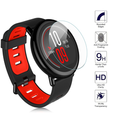 Amazing 9H 100% Original Real Tempered Glass Screen Protector for Xiaomi Huami Amazfit Sports Watch Premium Protective Film