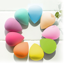 Free Shipping! Great Beauty Soft Sponge Drop Shape Blender Makeup Blending Foundation Smooth Sponge Cosmetic Powder Puff