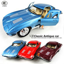 High Quality 1:32 scale metal diecast figure model car toys,alloy Antique vintage classic toy, mini carros
