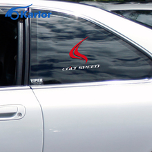 New Colt Speed Blaze Flame Vinyl Reflective Ho Car Sticker Auto Decal for Mitsubishi EVO ASX Lancer Outlander Pajero Car-Styling
