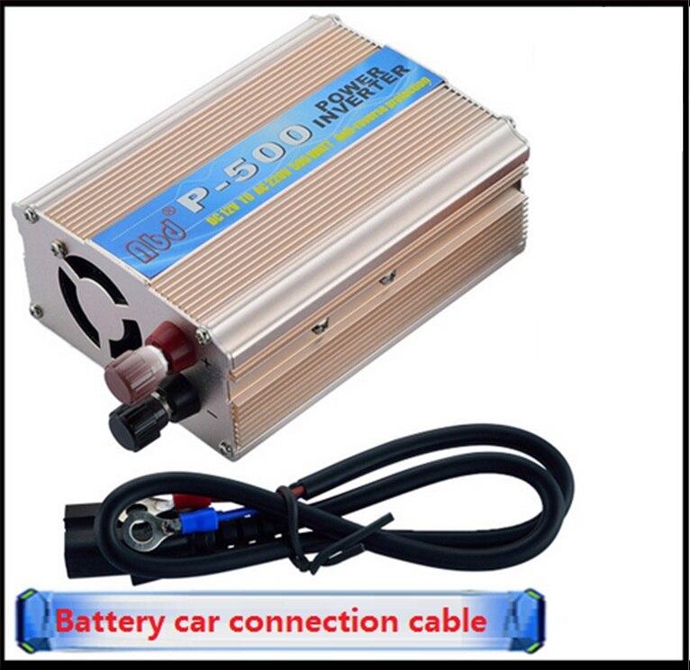 DC 48V to AC 220V Power Inverter Car Vehicle Voltage Power Inverter USB Adapter Converter Car Travel Inverters Fit below 500W<br>