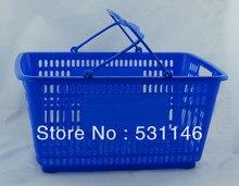 Высококачественные Пластиковые корзины для Супермаркетов 20 шт./упак.(China)
