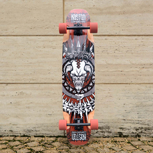 KOSTON pro multifunction longboard completes, 40inch professional  long skateboard completed set  for adult usage