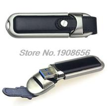 Fashion leather custom LOGO usb flash drive 64GB pen drive 32GB pendrive real capacity memory stick disk 4GB 8GB 16GB