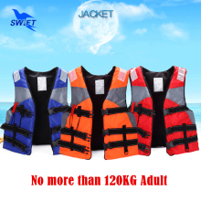 2017 Real Top Quality Adult Foam Life Vest With Lifesaving Whistle Reflective Tape Cheap Jacket For Fishing Swimming Drifting