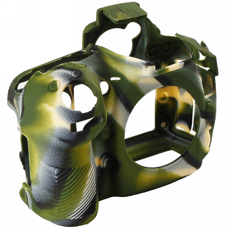 Soft Silicone Rubber Camera Bag For Nikon D810 D800 D850 Protective Body Case Skin DSLR Camera Rubber Cover Bag (9)