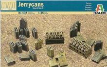 Out of print! 402 ITALERI JERRYCANS 1/35 ACCESSORY PLASTIC MODEL KIT SCALE 1/35(China)