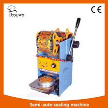semi automatic  Cup Sealing Machine,Plastic Cup Sealer,High Quality Plastic Bag Sealer Machine,,Plastic Cup Packing Machine