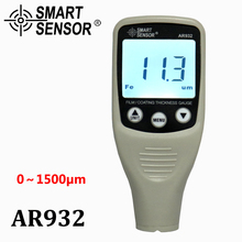 Digital Paint Coating Thickness Gauge W/ Probe, car detector Automotive Coating Refinishing car Paint tester Meter (0~1500um)(China)