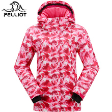 Women's Waterproof Outdoor Ski Jacket Winter Outdoor Hiking or Camping Coat Snowboard Jacket Free Shipping on Hot Sales Pelliot(China)
