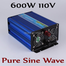600W off grid inverter, pure sine wave inverter for solar and wind system 110V DC to AC 100/110/120/220/230/240V