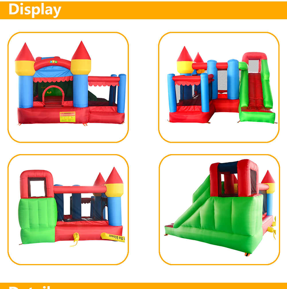 6063 inflatable bounce house bouncer castle jumper (8)