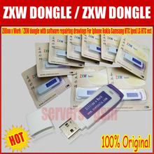 The latest version 100% original ZXW dongle with software repairing drawings For Iphone Nokia Samsung HTC(China)