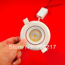 Wholesale!!! Free Shipping COB 20W  led downlight led recessed light with the waterproof power supply 20PCS 2000LM High bright