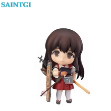 SAINTGI GSC Nendoroid 391# Battleship Collection Akagi Boxed Action Figure Model Collection Toy 10cm 4''(China)