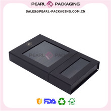 Lux Hair Box Sylte Hair Extension Packaging Box Wholesales, Customized Hair Extensions Display Box Lux Hair Box, 500pcs/lot(China)