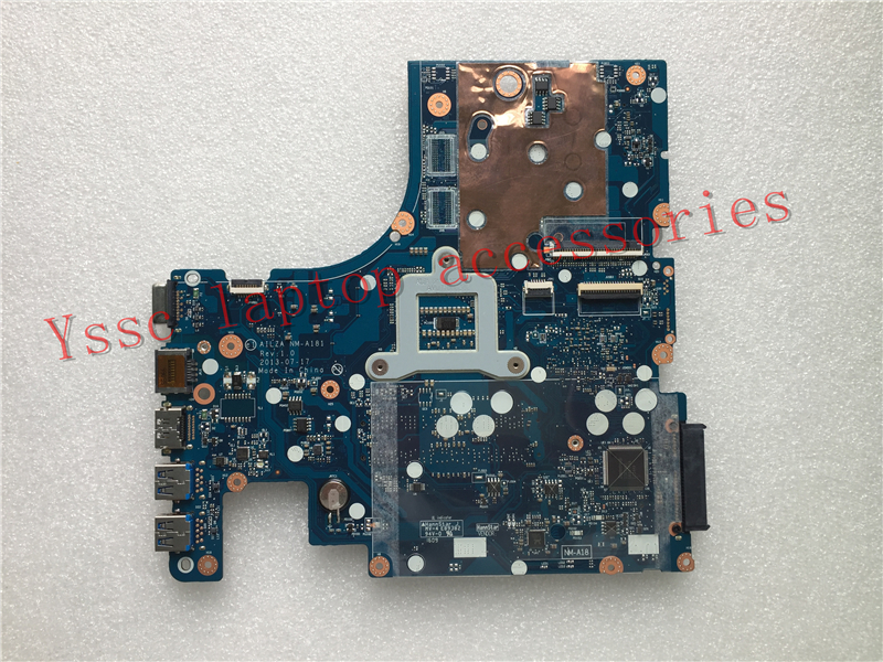 New New AILZA NM-A181 laptop motherboard for Lenovo Z510 motherboard PGA947 ( For intel  I3 I5 I7 CPU ) 100% test OK