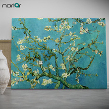 Modern Wall Art Picture Almond Blossom by Vincent Van Gogh Prints Canvas Oil Painting Home Decor No Frame
