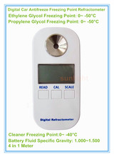 Digital Car Antifreeze and Cleaner Freezing Point Refractometer(China)