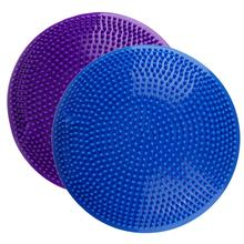 Inflatable Massage Yoga Ball Fitness Cushion Mat Universal Yoga Wobble Stability Balance Massage Cushion Mat Yoga Fitness Balls(China)