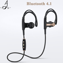 AhSSuf wireless headphones hook waterproof Bluetooth headset sports stereo bass noise cancelling running consumer electronics(China)