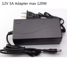 AC Converter Adapter For DC 12V 5A Power Supply Balancer Charger for 5050/3528 LCD Monitors IMAX B6 & Laptop