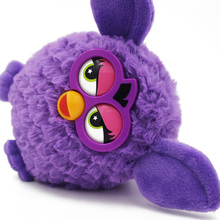Firbi Boom Electronic Toys Talking Toys Ferbi Interactive Toy Electronic Pet Repeat Stuffed Bird Firby Boom Talking Toy Bird(China)
