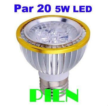 Par20 E27 6W 5W LED Lamp E27 220V lampada de led casa Par 20 spot bulbs aluminum luz Super Bright 110V Free Shipping 5pcs/lot<br><br>Aliexpress