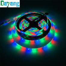 Discount 5m/roll 300leds 3528 LED Strip light DC 12V IP65 waterproof RGB White Warm White Blue Red Green color light Promotion