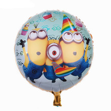 TSZWJ I-073 Free Shipping New Foil aluminum balloons party balloons wholesale children's toys(China)