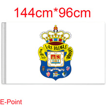 144cm*96cm size (La Liga) Las Palmas Flying flag C(China)