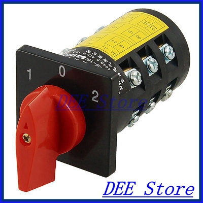 AC 380V 3KW 1-0-2 3 Positions Control Combination Switch Uepdw<br><br>Aliexpress