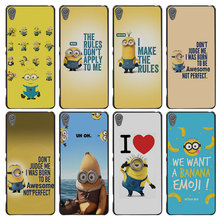 Minion Born To Be Awesome Style Case Cover for Sony Ericsson Xperia X XZ XA XA1 M4 Aqua E4 E5 C4 C5 Z1 Z2 Z3 Z4 Z5