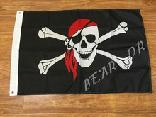One Piece pirate flag scarf 60x90cm polyester quality event decoration Free shipping(China)
