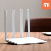 Xiaomi Mi WiFi Router 3 English Version 1167Mbps 2.4GHz 5GHz Dual Band 128MB Flash ROM Wireless Router with 4 Antennas EU PLUG(China)