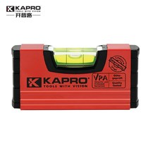 KAPRO High Precision bubble level inclinometer Micro-precision Portable Mini pocket Spirit level Handy Level with magnetic(China)