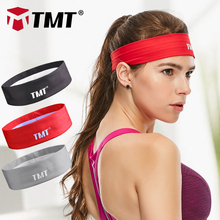 TMT Sport Sweatband tennis fitness Hairbands Yoga Football running Headband Elastic Stretch badminton Head Band for men women(China)