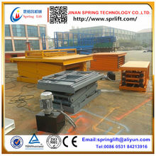 Cheap stationary scissor lift platform use for cargo lift in warehouse 2017(China)