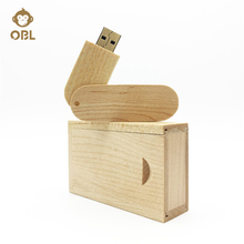 Wood Hardcover Storage USB Flash Drive 128GB 64GB 32GB 16GB 8GB 4GB Pen Drive Pendrive USB2.0 Memory Stick Drive USB Stick Disk