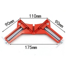 2017 Multifunction 90 degree Right Angle Clip Picture Frame Corner Clamp 100MM Mitre Clamps Corner Holder Woodworking Hand Tool