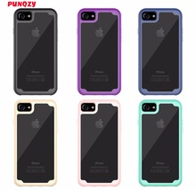PUNQZY case for iPhone7 X 6s 6 5S SE 5 8 7 Plus 6 Plus Case cover Business Heavy Duty Protection Geometric Three in one Sports(China)