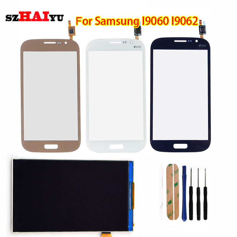 Free Shipping Test Original LCD Touch Panel for Samsung Galaxy Grand Neo i9060 i9062  LCD Display Touch Screen Digitizer Panel<br><br>Aliexpress