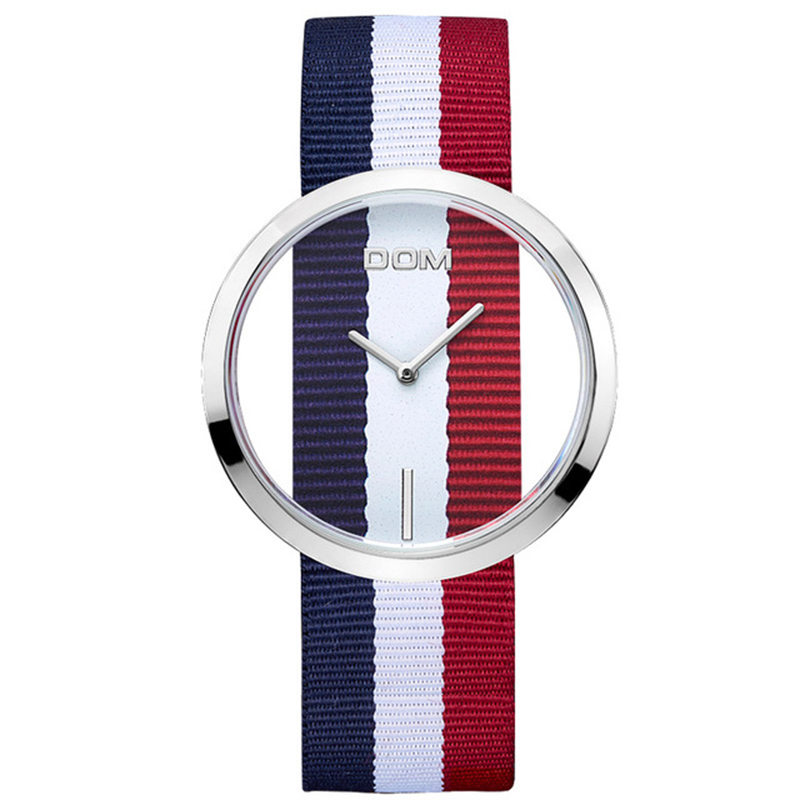 DOM Watches women top brand luxury Casual Leather Quartz watch female Clock girl dress wrist relogio montre femme saati LP-205<br>
