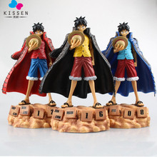 Kissen Anime One Piece Monkey D Luffy Eternal Calendar PVC Action Figure Collectible Model Toy 20cm 3 colors