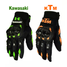 KTM Motorcycle bike gloves retro kawasaki Moto racing gloves Men's Motocross full finger gloves M/L/XL/XXL Wholesale and retail