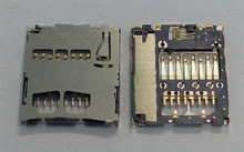 2Pcs/lot Memory SD Card Holder Slot Replacement Part Original New For Galaxy S2 i9100 i9103 i9105(China)