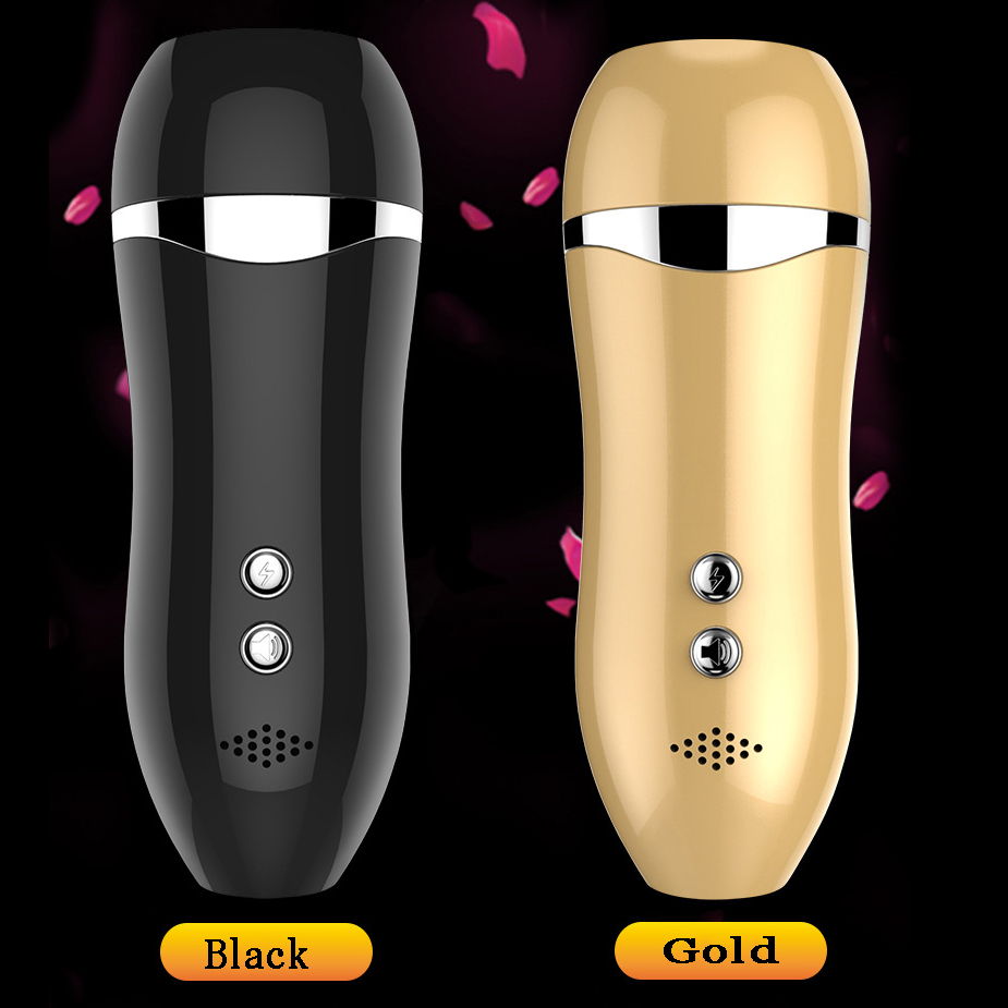 Newest real voice usb male masturbator cup artificial pocket pussy men masturbation sex machine silicone fake pussy erotic toys<br>