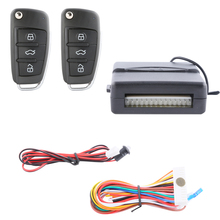 Quality universal keyless entry system with LED light,remote lock unlock,auto window rising & falling central door locking DC12V(China)
