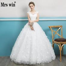 Buy Wedding Dresses 2018 Bridal Elegant Short Sleeve O-neck Luxury Embroidery Appliques Lace Ball Gown Vintage Bridal Gown F for $76.50 in AliExpress store